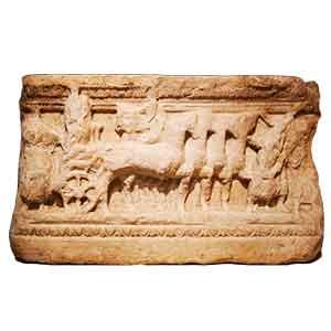 Alabaster Burial Urn