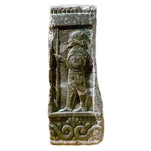 Cippo funerario di arenaria